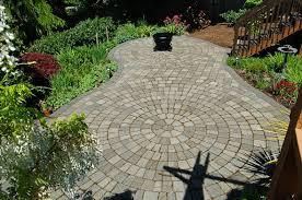 Circular Paver Patio Beaverton Landscaping Creatively Designed Patio Classic Garden