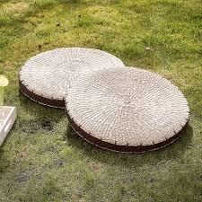 Large Outdoor Floor Pillows by Circular Rush Weave Grass Floor Cushion Grasses And English