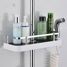 Bathroom Shower Storage Rectangle Bathroom Shelves Shower Storage Rack Holder
