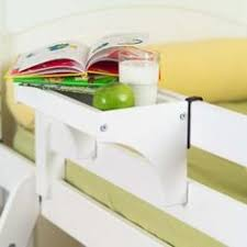 bunk bed table attachment wood bunk bed shelf bedbathandbeyond com solve the lack of a night