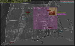 Fallout 3 Map by Fallout 4 Thesurvivor2299 Speculation Map Ii Info In Comments