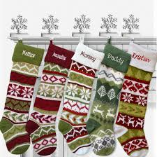 christmas stockings sale personalized knitted christmas stockings green white by eugenie2