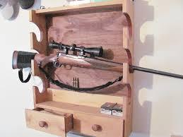 Wood Gun Cabinet Custom Wooden Gun Cabinets U0026 Gun Rackssoaring Eagle Woodworking Llc