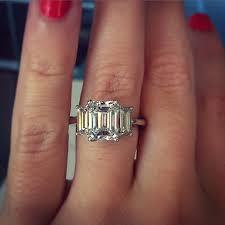 emerald cut engagement rings best 25 emerald cut engagement rings ideas on emerald