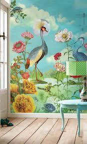 130 best wall designs images on pinterest wall design aquazzura peacock wallpaper