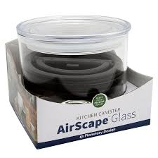 airscape kitchen canister airscape glass coffee and food storage canister 32
