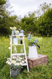 late spring early summer rustic outdoor wedding inspiration in