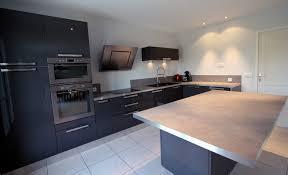 cuisine gris foncé modern cuisine anthracite agr able meuble gris 2 56 et bois blanche