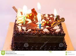 cake chocolate happy birthday box stock photo image 62954494