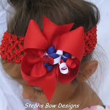fourth of july hair bows 4 4th of july boutique korker hair bow stephs bow designs