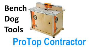Bench Dog Router Table Review Bench Dog 40 001 Protop Contractor Benchtop Router Table Youtube