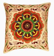 Suzani Pillows Ikat Pillows