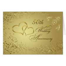 50th wedding anniversary greetings 50th wedding anniversary greeting cards zazzle