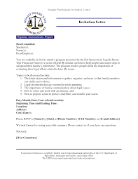 college invitation letter sample ideas 4 excuse letter sample