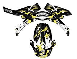 camo motocross helmet helmet kit camo grunge yellow rival ink design co custom