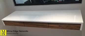 how to build a floating desk unique how to install a floating desk beallsrealestate com my