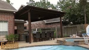 Pergolas And Decks arbors pergolas builder in kingwood texas ev decks u0026 gazebos