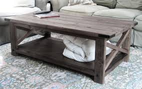 Build Wooden End Table by Ana White Rustic X Coffee Table Diy Projects