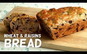walnut u0026 raisins wheat bread fruity kitchen youtube