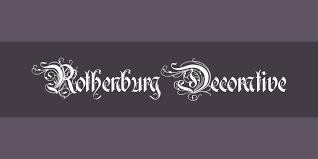 rothenburg decorative font free by alex winterbottom font squirrel