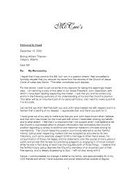 resignation letter format simple sayings church resignation