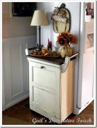 Kitchen Cupboard Garbage Bins by Kitchen But As Part Of The Built In Cabinets Home Styling