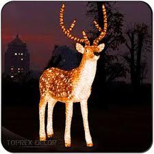 lighted reindeer animated lighted reindeer christmas decoration buy deer antlers