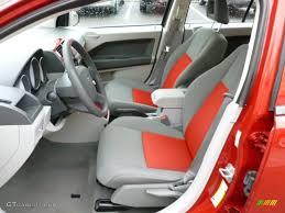 2007 Dodge Caliber Interior Pastel Slate Gray Red Interior 2007 Dodge Caliber Sxt Photo