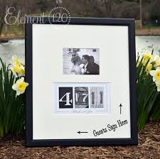 personalized wedding photo frame beautiful wedding guest book picture frame ideas styles ideas