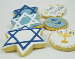 hanukkah cookies hanukkah cookies etsy