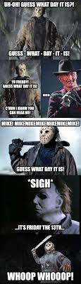 Funny Friday The 13th Meme - friday fun friday the 13th theoffice