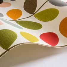 Orla Kiely Multi Stem Duvet Cover Multi Stem By Orla Kiely Original Wallpaper Direct