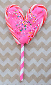 heart lollipop make chocolate heart lollipops from candy canes the diy