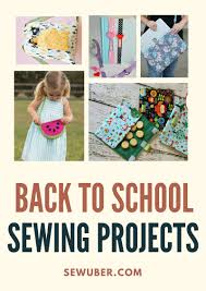 5 sewing projects so your kids are prepared for classes