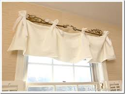 Patterns For Curtain Valances No Sew Window Valance In My Own Style
