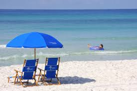 Chairs On A Beach Beach Chairs With Umbrella