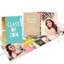 sneak peek modern graduation invitation ideas pear tree