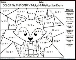 math coloring sheets nd grad on color by number