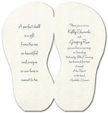 27 best jen u0027s beach wedding flip flop invitations images on