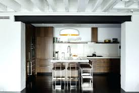 interior of kitchen black subway tile kitchen backsplash black subway tile kitchen
