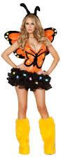 body suit halloween costumes butterfly bodysuit and headband orange butterfly romper