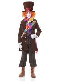 party city scary halloween costumes boys electric mad hatter costume