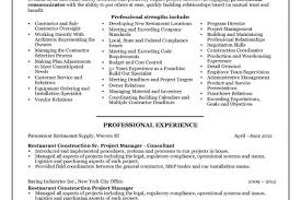 Construction Project Manager Resume Samples by Entry Level Construction Worker Resume Samples Entry Level Entry