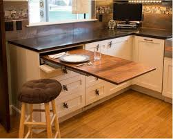 kitchen island with pull out table pull out table kitchen ideas photos houzz