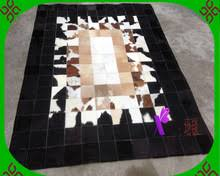 online get cheap leather cowhide rug aliexpress com alibaba group