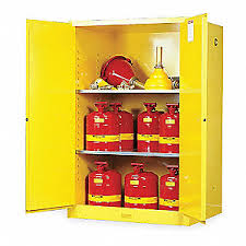 what should be stored in a flammable storage cabinet justrite flammable safety cabinet 90 gal yellow 1yng2 899000