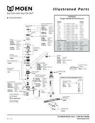 moen kitchen faucet cartridge replacement moen two handle bathroom faucet repair locksmithview com