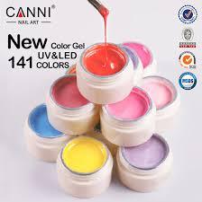 50618j canni new 141 colors names paint gel ink nails design gel