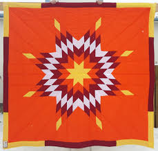 Flag With Yellow Star Star Blankets U2013 Queen Baby Sizes Cree Star Gifts