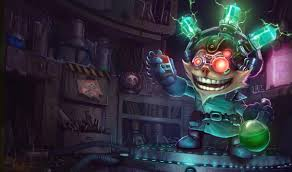fiddlesticks guide mad scientist ziggs league of legends lol champion skin on